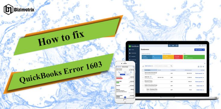 How to Fix QuickBooks Error 1603