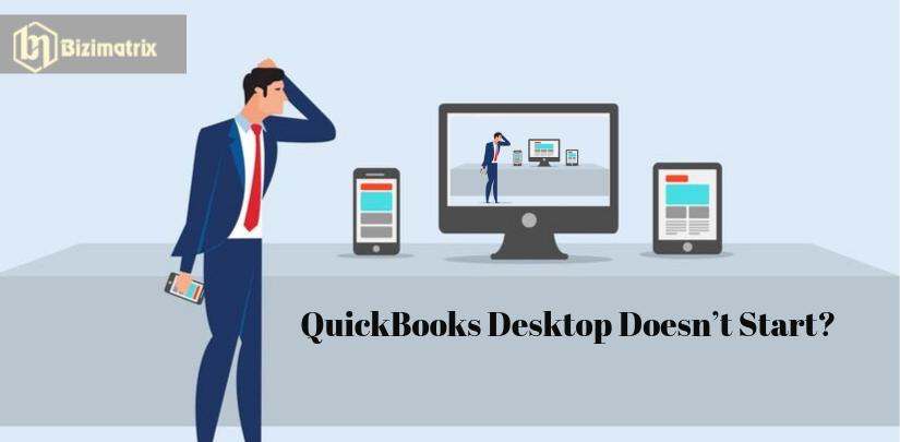 QuickBooks Desktop Doesn't Start