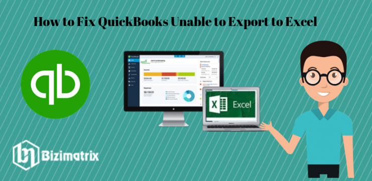 QuickBooks Unable to Export to Excel