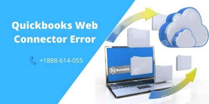 Quickbooks web connector error