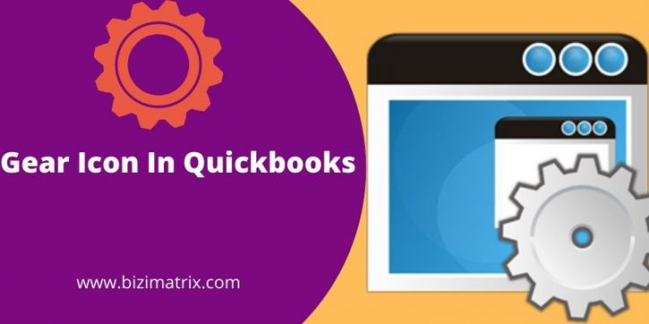 Gear Icon In Quickbooks