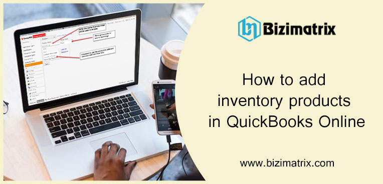 How to add inventory products in QuickBooks Online